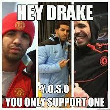English Premier League Memes - drake s favorite english premier league team all of them sbnation com