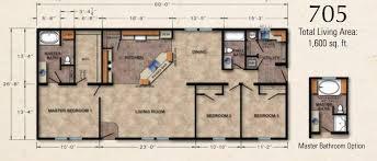 ranch modular home floor plans crowne 705 ranch modular home 1 600 sf 3 bed 2 bath next modular