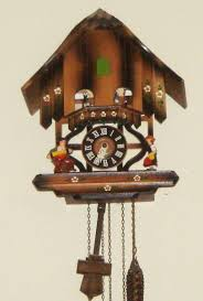Antique Cuckoo Clock Black Forest Cuckoo Clock Musical W Dancers Collectors Weekly