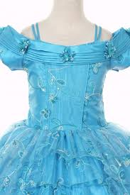 victorian corset ruffled princess pageant dress in turquoise