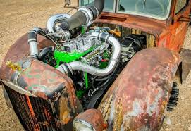 12v cummins powered 1938 mack rat rod is smothered in cool