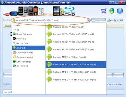 convert mov to mp4 android mov to android how to convert mov to android phone with aleesoft