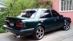 nissan bluebird 1990 bluhuk 1990 nissan stanzagxe sedan 4d specs photos modification