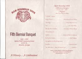 banquet program templates gallery sports awards banquet program template anatomy diagram