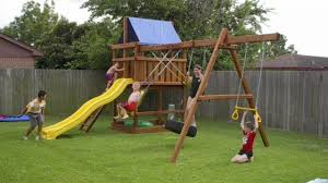 15 diy swing set build a backyard play area for your kids the