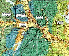 map of dallas fort worth geology of the dallas fort worth metroplex