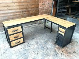 sur bureau bureau d angle bois bureau d angle 90a pietement metallique bureau