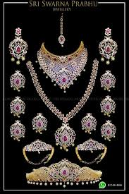 bridal set for rent american diamond bridal set for sri swarna prabhu