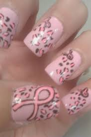 breast cancer awareness nail art gallery by nails magazine