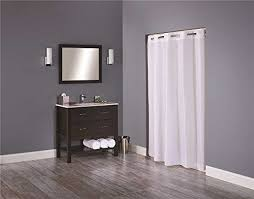 Hotel Quality Shower Curtains Hookless Hbh44eng01 Englewood Shower Curtain 71 X 74 White