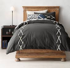 Duvet Covers Restoration Hardware Football Lacing Bedding Collection Rh Baby U0026 Child