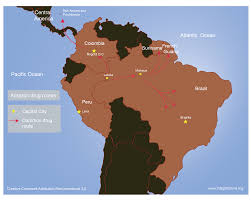 Amazon Basin Map The Flow Of Drugs And Blood In The Amazon Tri Border Region