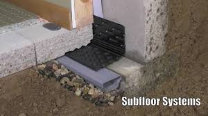 Basement Subfloor Systems - professional basement waterproofing supplies youtube