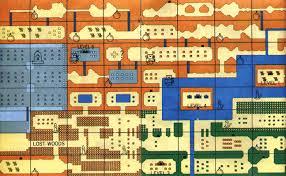legend of zelda map with cheats the legend of zelda overworld map