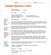 sample business letters format sample business letter of intent