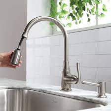 high arch kitchen faucet kraus single handle stainless steel high arch kitchen faucet with