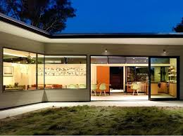 u shaped houses pictures of l shaped houses modern l shaped house open backyard