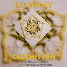 Crochet Home Decor by Microcknit Creations Let U0027s Play Crochet Fun Free Pattern