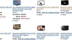 amazon 43 inch black friday amazon black friday 2011 countdown sale offers hdtvs for 499 or less