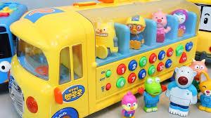 baby pororo school tayo the garage toys rock