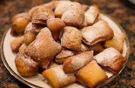to make beignets and quince for thanksgiving dessert