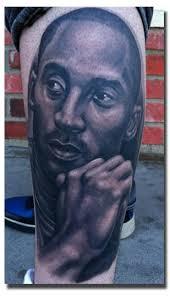 fan gets kobe u0027s face tattooed on his leg