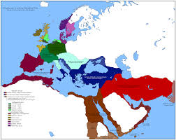 Babylonian Empire Map Mof 19 In Absentia Alternate History Discussion