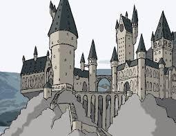 image gallery hogwarts drawing