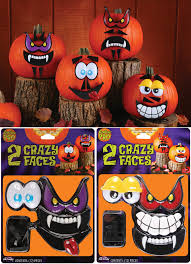 mr pumpkin faces kit 12 piece halloween