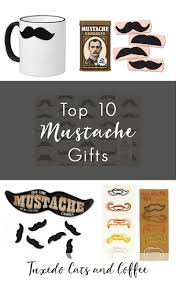 top 10 mustache gifts tuxedo cats and coffee