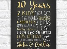 10 year anniversary present 9 10 year wedding anniversary gifts for men 10 year anniversary