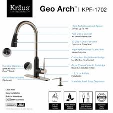 How To Install Kitchen Faucet by Kitchen Faucet Set Kraususa Com