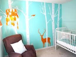 fresque murale chambre bébé peinture mur chambre bebe une idace dacco chambre bacbac fille