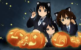 download wallpaper pumpkin anime mood halloween free desktop
