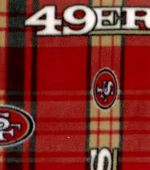 licensed fleece san francisco 49ers joann