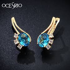 bluestone earrings blue gold earrings best earring 2017