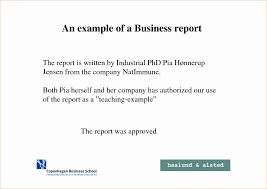 assignment report template 12 lovely business report format exle davidhowald