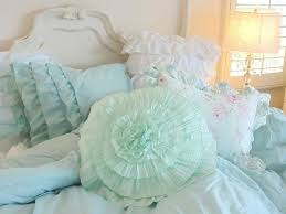 Ruffle Bedding Shabby Chic by 258 Best Bedding Images On Pinterest Bedding Bedroom Ideas And
