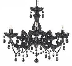 Ebay Black Chandelier Jet Black Chandelier Lighting 18x16 5lts Fixture Pendant