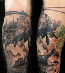 impressive tank tattoo on arm tattooshunter com