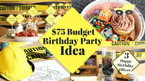 construction party ideas diy party ideas for boys construction zone boys party