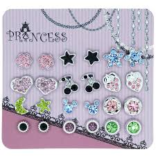 kids clip on earrings pack of 12 color magnetic stud earrings for kids