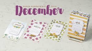net paper pattern 2015 december 2015 paper pumpkin kit one great year official stin