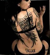 angel wings tattoo on back tattoo collections
