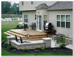 Deck And Patio Ideas For Small Backyards Small Backyard Deck Patio Ideas Decks Home Decorating Ideas