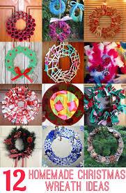 12 homemade christmas wreath ideas homemade christmas wreaths