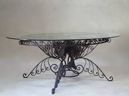 wrought iron dining room table u2013 home decor gallery ideas