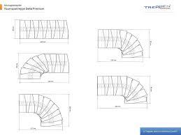 treppen intercon gmbh profigold space saver staircase delta premium in silver or white
