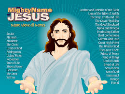 the names of jesus poster download kids in ministry