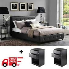 Full Bedroom Furniture Set by 3 Piece Bedroom Furniture Set Queen Full Twin Size Platform Bed W